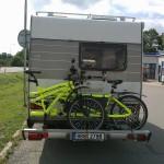 folded triplet bike