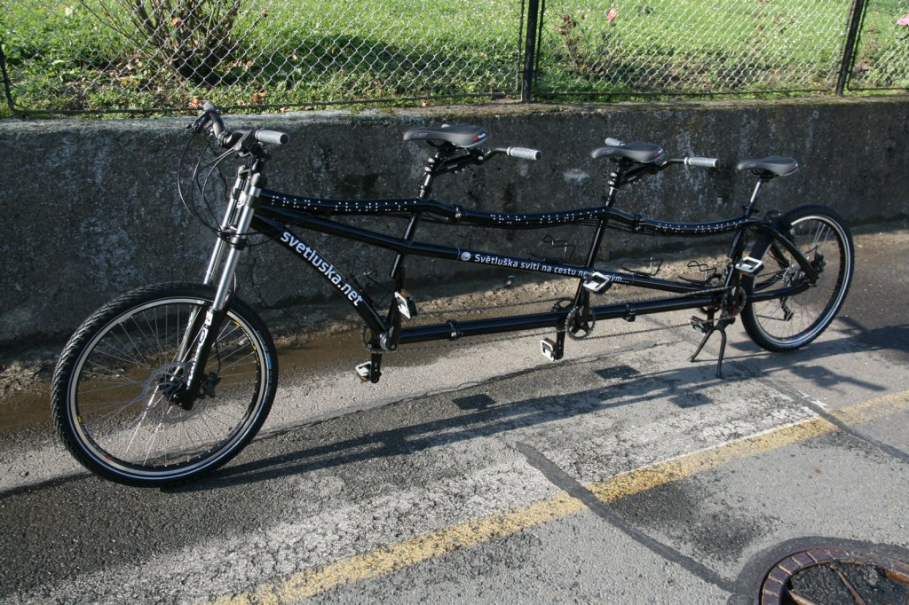 triplet bike, tridem from Tandemservis