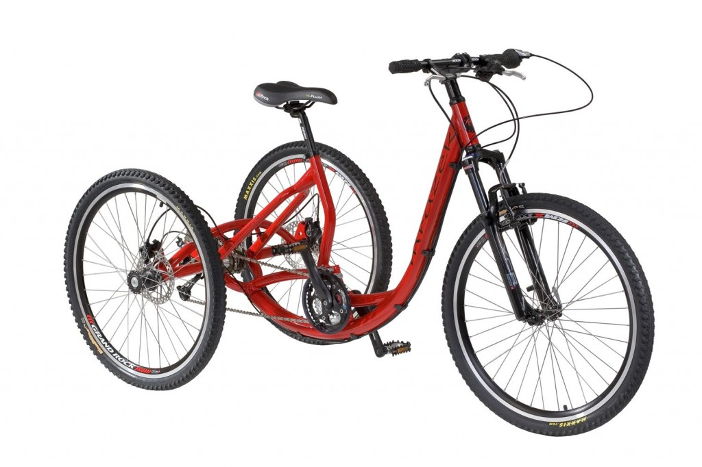 Tandemservis Naja U is a trike with low step frame - tricycle