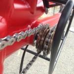 freewheels ensuring the separate pedaling function