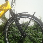 front rigid fork and carrier Tubus Tara