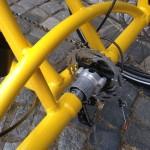 řešení zadní stavby s pohonem na obě kola